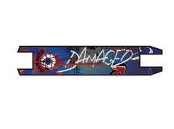 Damaged Grip Tape / Deck Tape für D-Ranged Stunt Scooter Bild 6