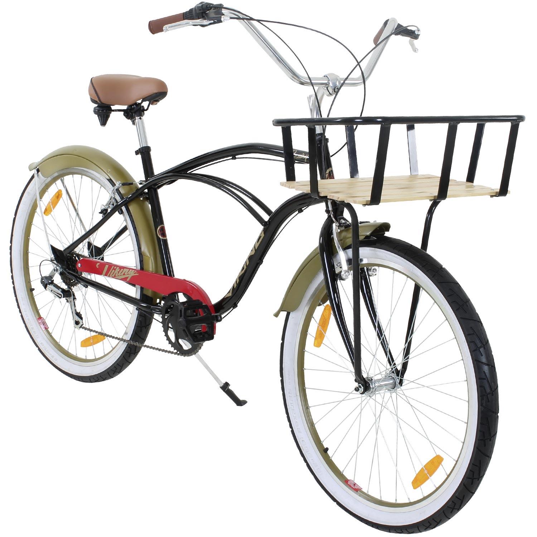 beachcruiser viking cruisy gent 26 zoll cruiser fahrrad lowrider ebay. Black Bedroom Furniture Sets. Home Design Ideas