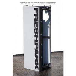 Freshpark Fun Box Manual Pad, Olliebox Skateboard Rampe faltbar mobil Skatepark Bild 3