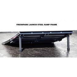 Freshpark Launch Ramp Schanze Kicker Skatepark Transportabel Aluminium Bild 2