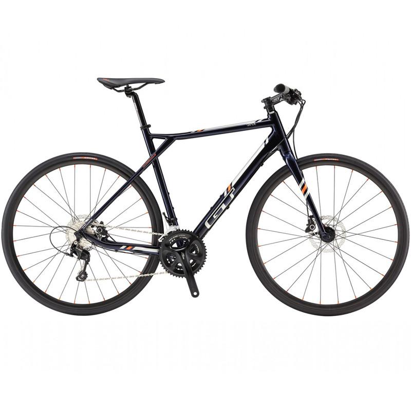GT Grade Flatbar Expert BLU dark blue Rennrad Fitnessrad Fitnessbike