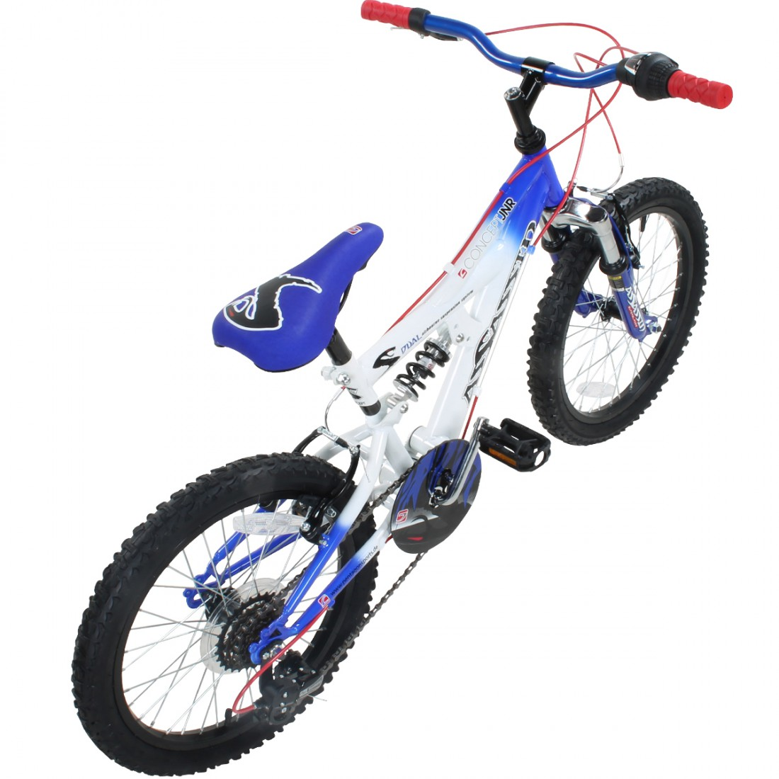 18 oder 20 Zoll Kinder MTB Concept Assassin Mountainbike Fully ...