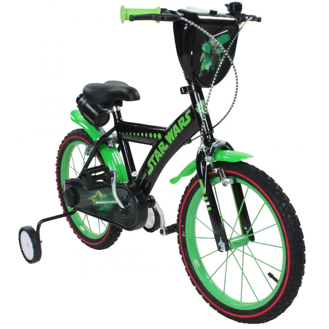 disney star wars yoda 16 zoll kinderrad fahrrad kinderfahrrad. Black Bedroom Furniture Sets. Home Design Ideas