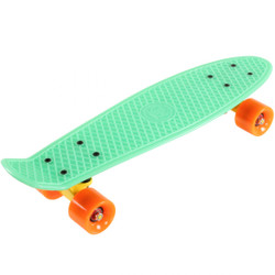 "SLICK Stuff Mini Cruiser Skateboard Kinderskateboard ""Glow in the Dark!"" Leuchteffekt Bild 3"