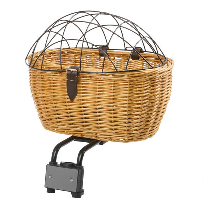 m wave weidenkorb fahrrad f r sitzrohr oder vorbau hinten. Black Bedroom Furniture Sets. Home Design Ideas