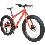 "26"" x 4.0"" Fatbike Bottecchia 140 18 Gang orange Bild 2"