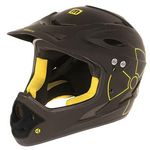 Helm Mighty Fall Out Freeride / Downhill-Helm BMX Fahrradhelm 2 Größen Fullface Freeride Integral