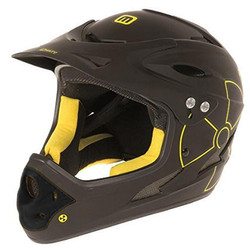 Helm Mighty Fall Out Freeride / Downhill-Helm BMX Fahrradhelm 2 Größen Fullface Freeride Integral 001