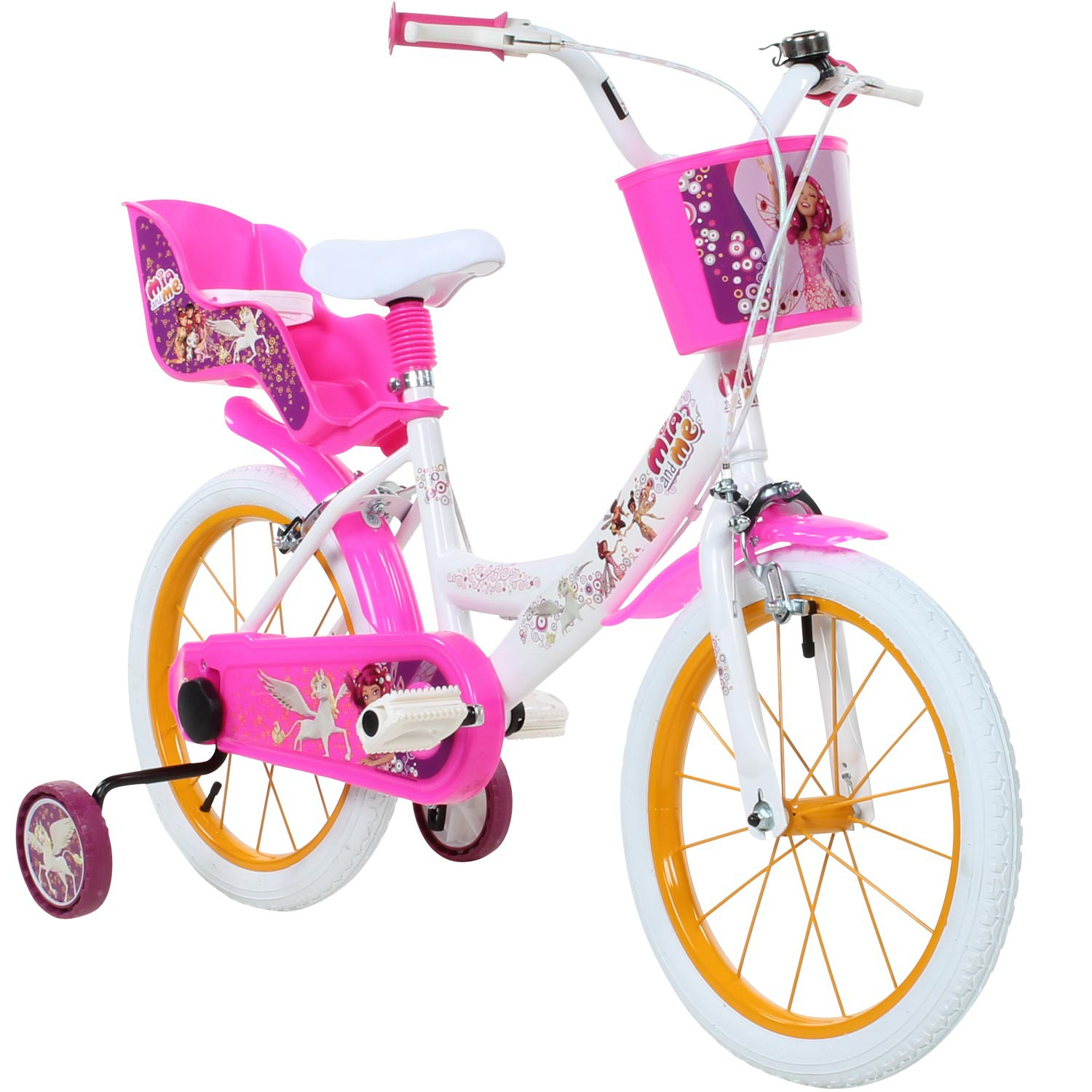 kinderfahrrad 16 zoll mia and me kinder anf nger fahrrad. Black Bedroom Furniture Sets. Home Design Ideas
