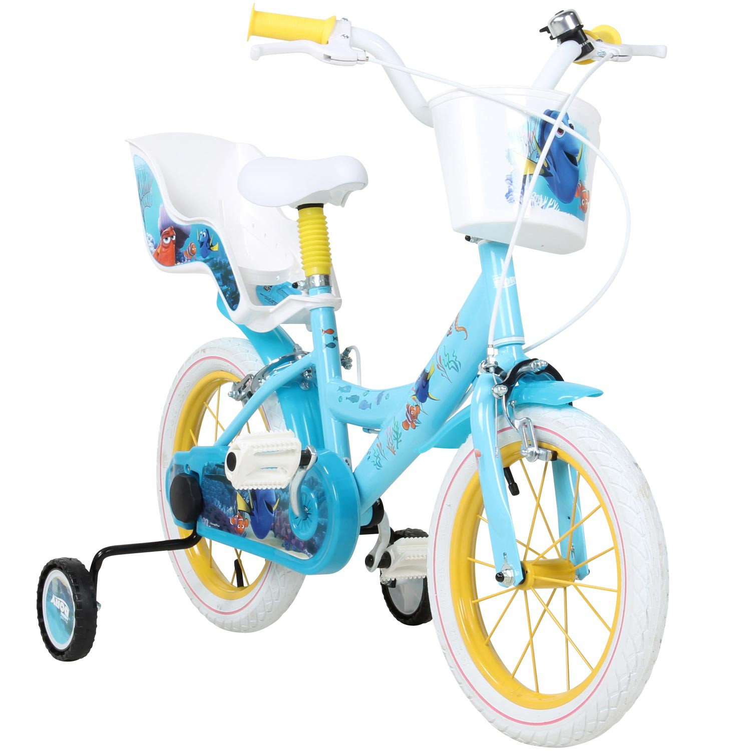 findet nemo 2 findet dorie 14 zoll kinderfahrrad fahrrad. Black Bedroom Furniture Sets. Home Design Ideas