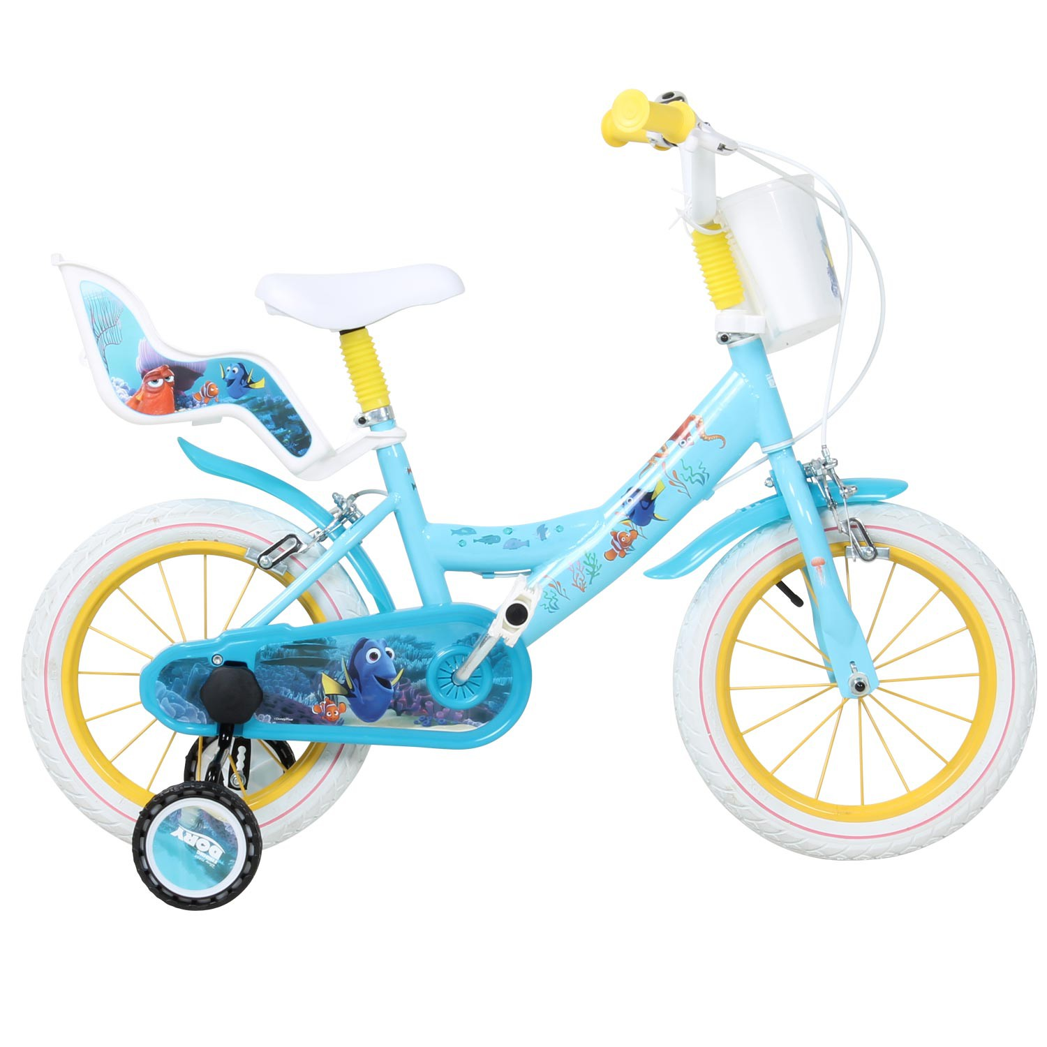 kinderfahrrad 14 zoll findet nemo 2 findet dorie dory. Black Bedroom Furniture Sets. Home Design Ideas