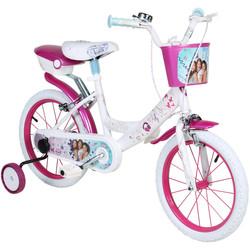 16 Zoll Disney Violetta Kinderfahrrad für Mädchen ab ca. 4 Jahren Bild 2