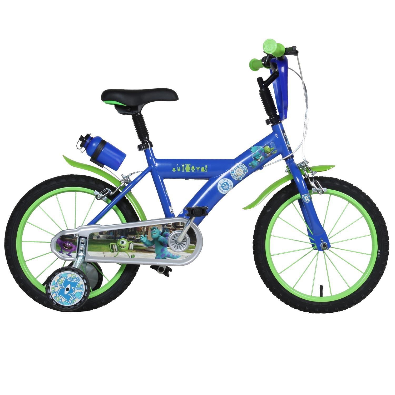 disney monster uni 16 zoll kinderfahrrad mike fahrrad. Black Bedroom Furniture Sets. Home Design Ideas