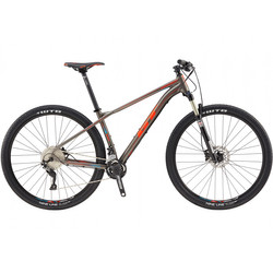 "29"" Mountainbike MTB GT Zaskar AL Comp 2017 matte gun grey Cross-Country xc"