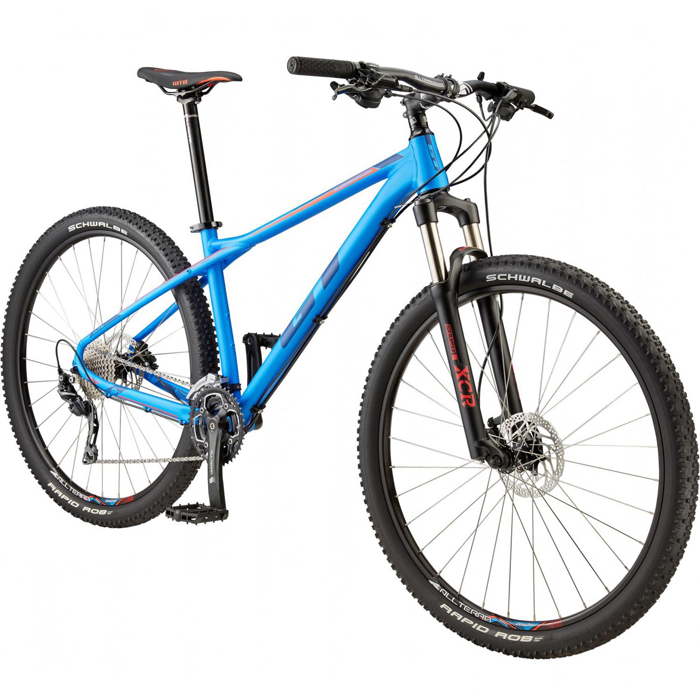 29 zoll mountainbike mtb gt karakoram elite blau 2017 ebay. Black Bedroom Furniture Sets. Home Design Ideas