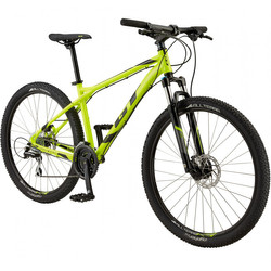 "27.5"" GT Aggressor Expert NYL Neon Gelb Mountainbike MTB Modell 2017"