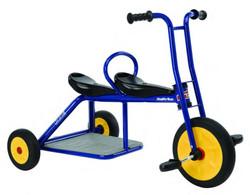 Italtrike Atlantic Carry Tandem Dreirad Tricycle Kindertrike 3 - 6 Jahre Tandem Zweisitzer