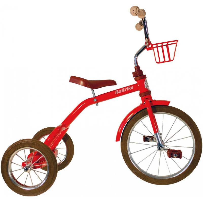 "Italtrike Classic Line 16"" Spokes Dreirad Speichenrad Tricycle 3 - 5 Jahre"
