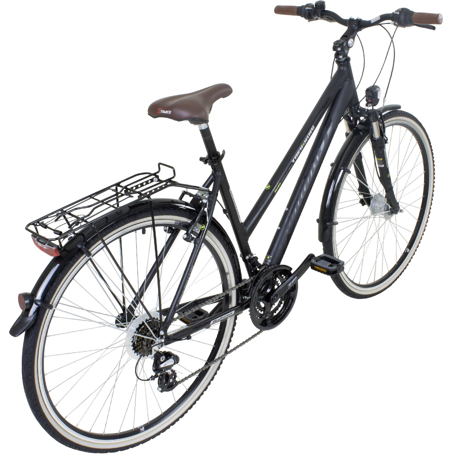 28 zoll galano damen alu trekking rad bike fahrrad shimano. Black Bedroom Furniture Sets. Home Design Ideas