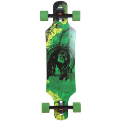 Longboard Shorty Surge Drop Through 81 cm extra leicht children surfer Kinderskateboard  002