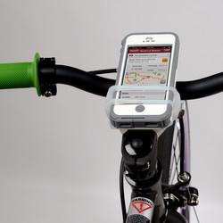 Nite Ize HandleBand Silikon Smartphonehalterung Smartphone Handy Fahrrad Halterung Kinderwagen Motorrad universal