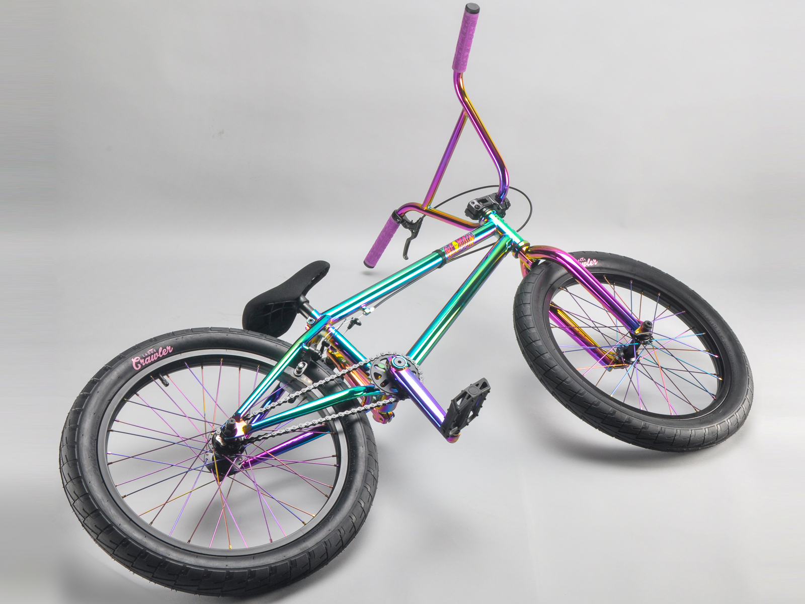 20 zoll mafiabikes bmx bike neomain oilslick 4130 chromoly harry main ebay. Black Bedroom Furniture Sets. Home Design Ideas