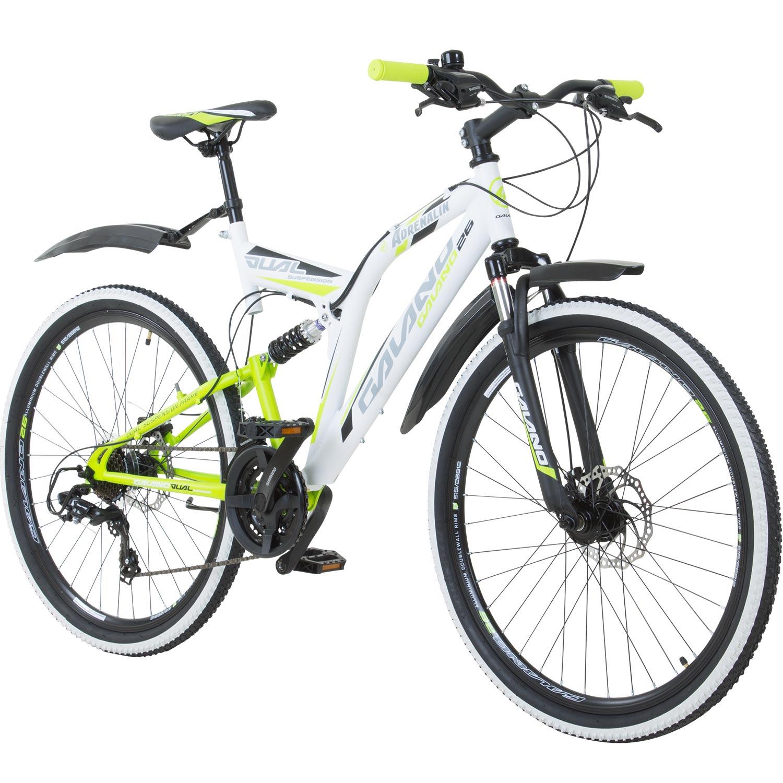 26 Inch MTB Fully Galano Adrenaline DS Mountain Bike Disc Brakes ...
