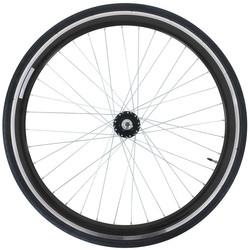 28 Zoll 700C Galano Blade Hinterrad inkl Reifen Fixie Singlespeed Hochflansch Fixed Gear Wheel Bild 3