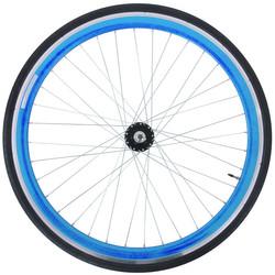 28 Zoll 700C Galano Blade Hinterrad inkl Reifen Fixie Singlespeed Hochflansch Fixed Gear Wheel Bild 5