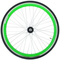 28 Zoll 700C Galano Blade Hinterrad inkl Reifen Fixie Singlespeed Hochflansch Fixed Gear Wheel Bild 7
