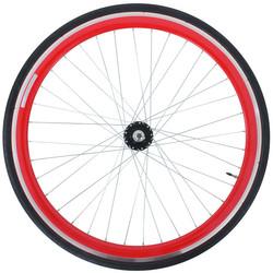 28 Zoll 700C Galano Blade Hinterrad inkl Reifen Fixie Singlespeed Hochflansch Fixed Gear Wheel