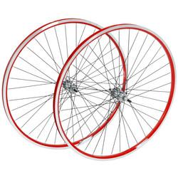 28  Zoll CHILL Laufräder Aluminium hinten oder vorne viele Farben Double Wall Laufradsatz
