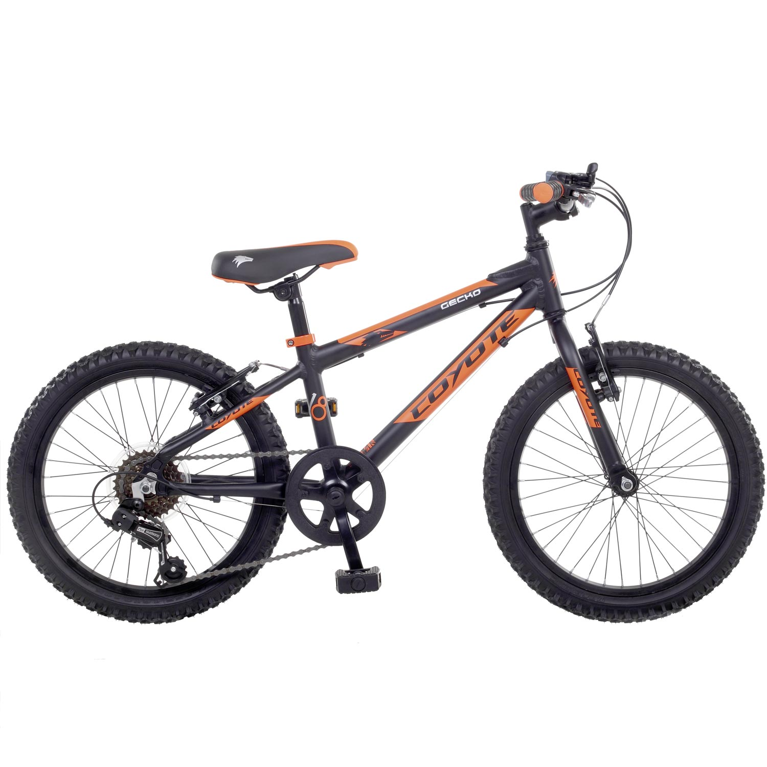 18 zoll coyote gecko kinderfahrrad mtb mountainbike. Black Bedroom Furniture Sets. Home Design Ideas