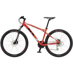 GT Aggressor Expert 27.5 Zoll Mountainbike MTB neon rot 650B Bild 2