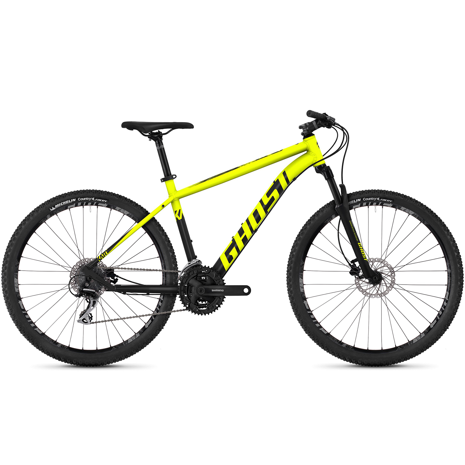 27 5 inches mtb ghost kato 2 7 aluminum mountain bike ebay. Black Bedroom Furniture Sets. Home Design Ideas