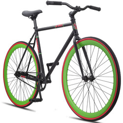SE Bikes Draft 700c Fixie Singlespeed 28 Zoll Fixed Gear Bike Fixie Bike Fitnessbike Eingangrad 001