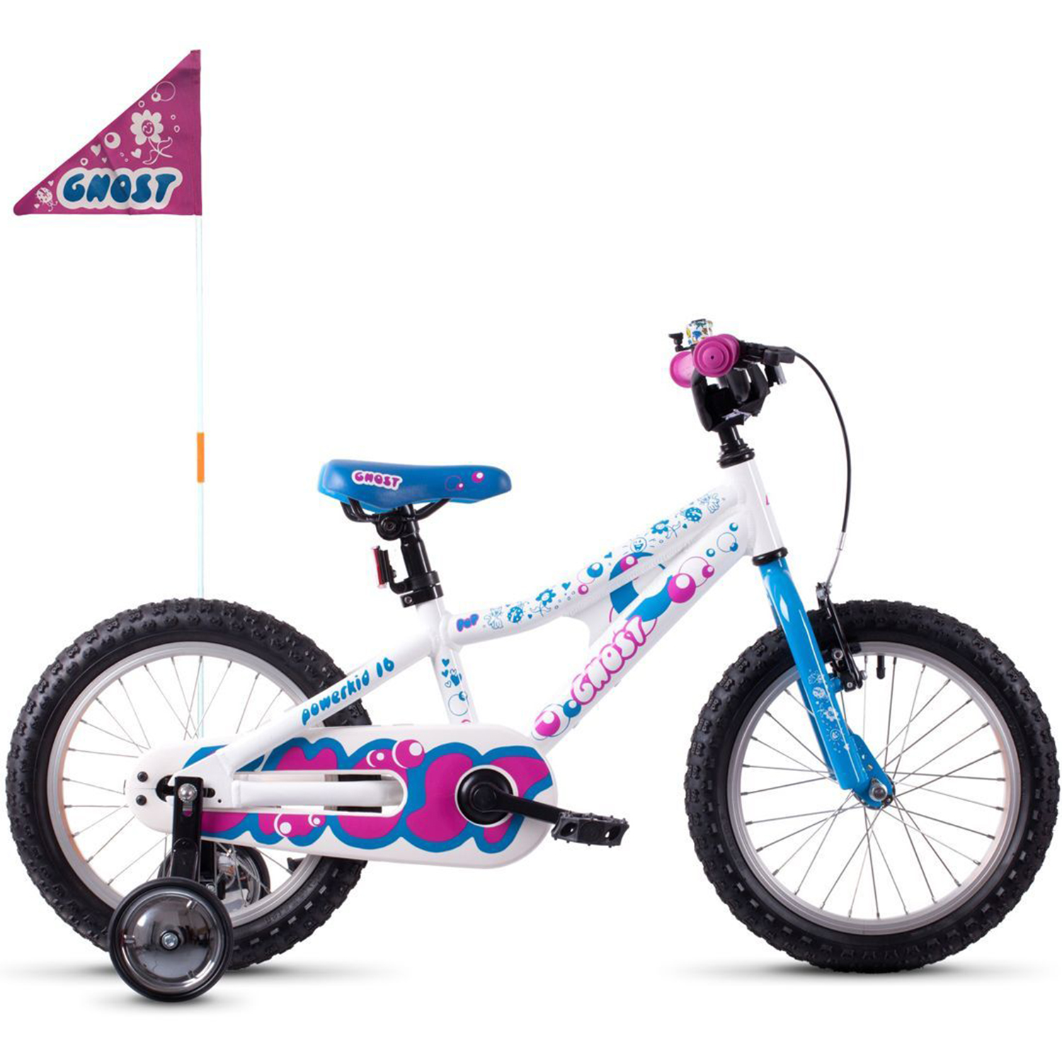16 zoll ghost powerkid 16 al kinderfahrrad kinder mtb ab. Black Bedroom Furniture Sets. Home Design Ideas