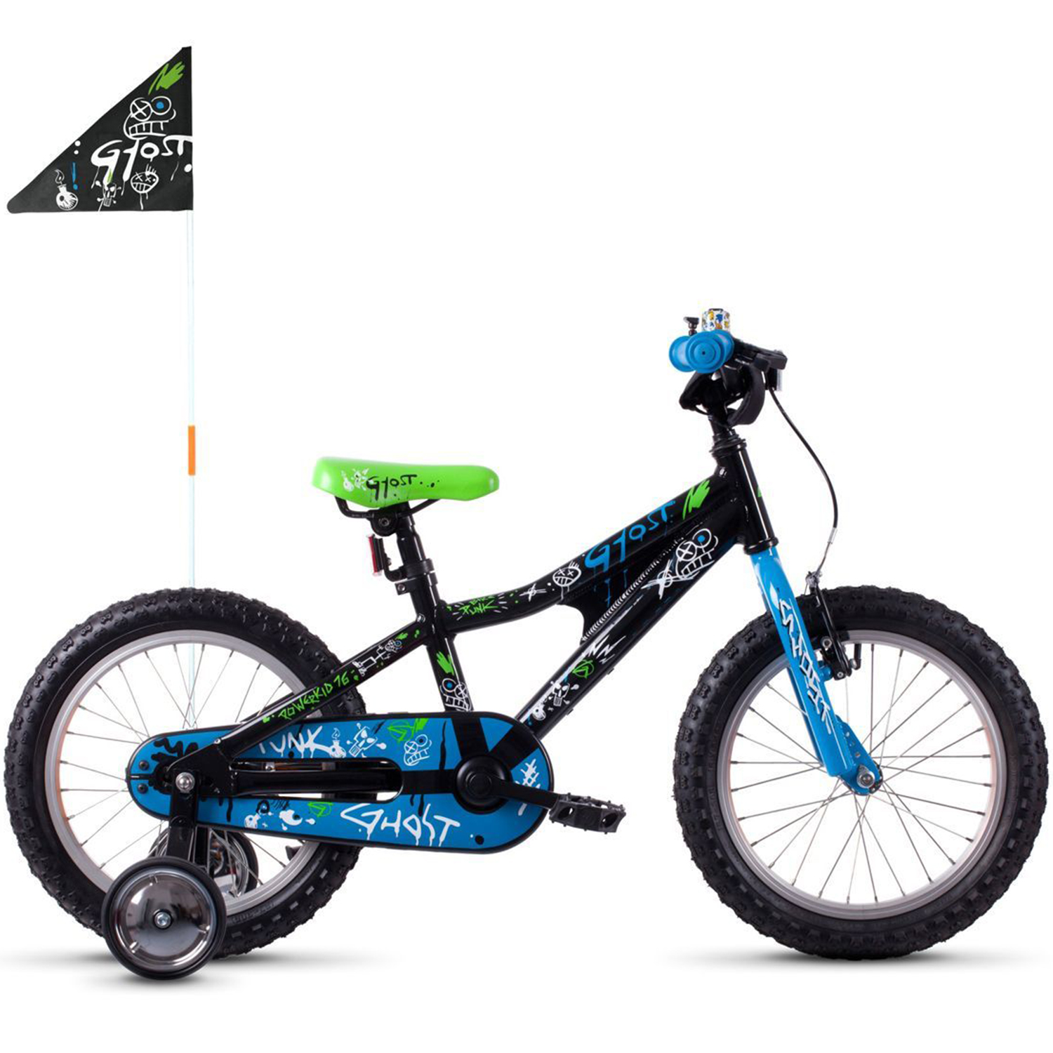 kinderfahrrad 16 zoll ghost powerkid 16 al kinder mtb ab. Black Bedroom Furniture Sets. Home Design Ideas