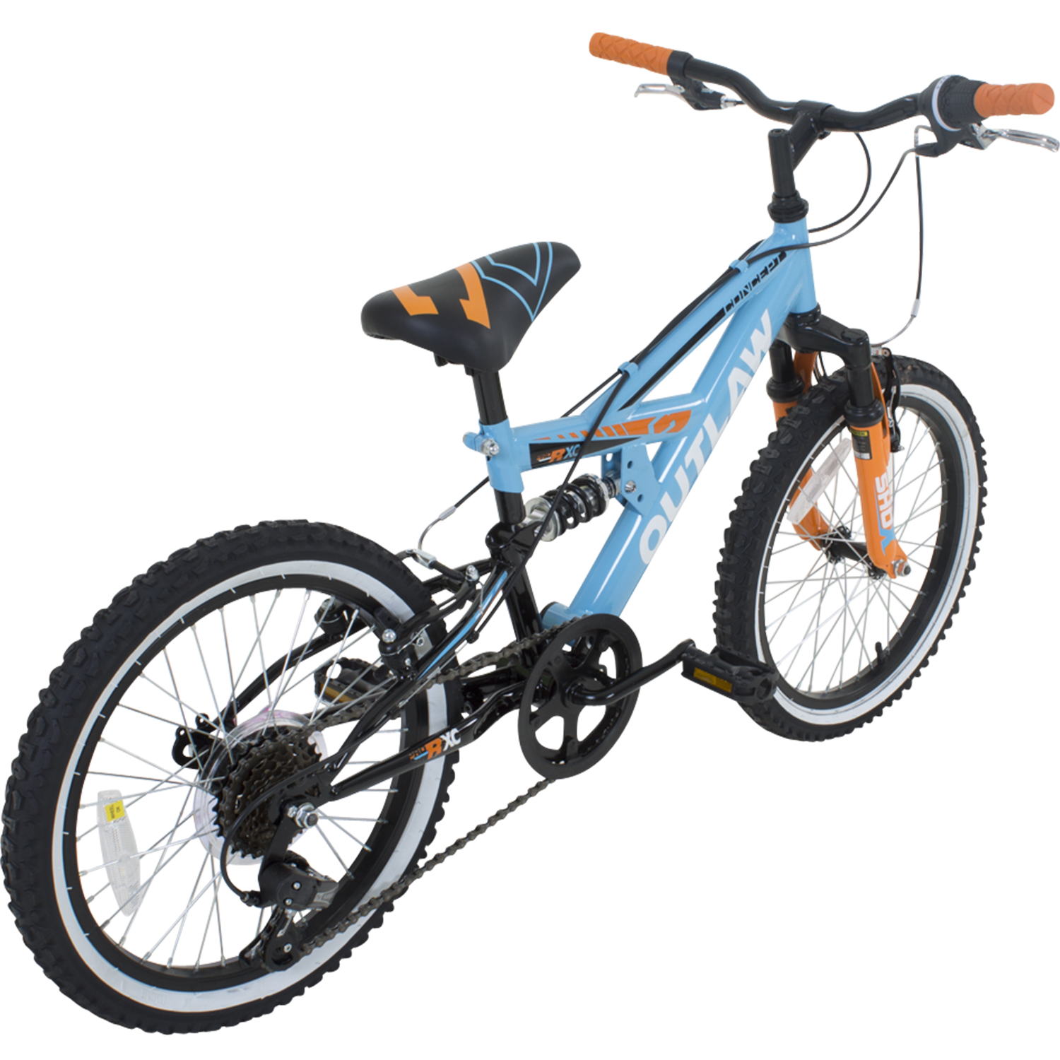18 zoll kinder mountainbike concept outlaw fully