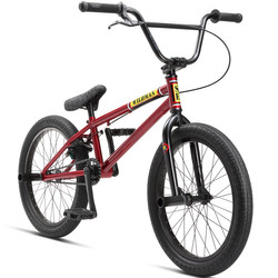 SE Bikes Wildman 2018 20 Zoll BMX Dirt/Street/Park/Freestyle Fahrrad RED