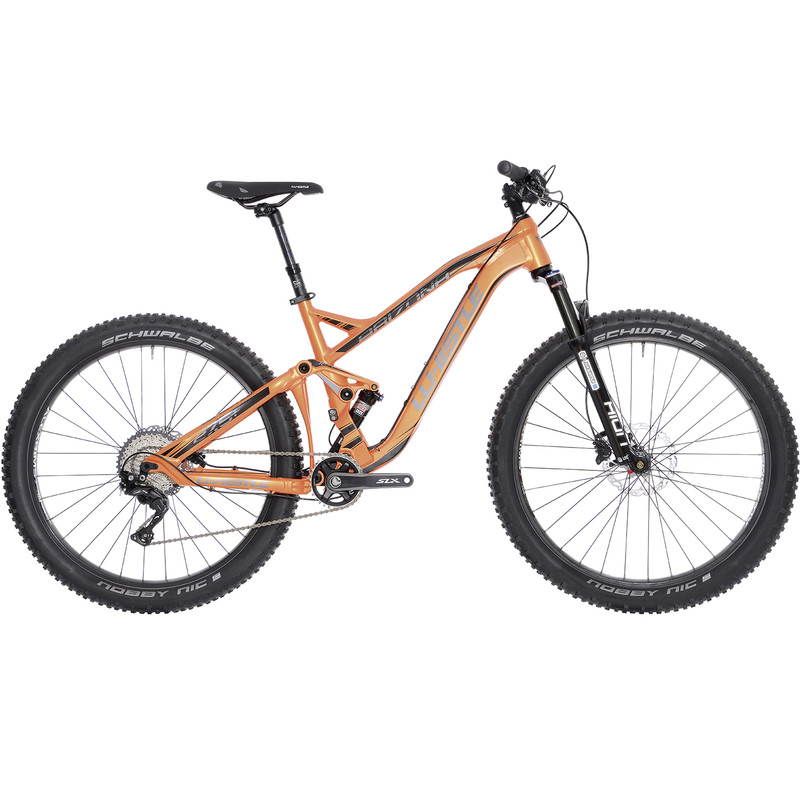 27,5 Zoll Mountainbike Whistle ARIZONA 1722 Rahmengröße 44 oder 48 cm Fully Full Suspension