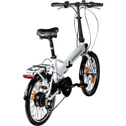 Zündapp Z101 20 Zoll Faltrad E-Bike Klapprad Pedelec StVZO Elektrofaltrad 6 Gänge Bild 9