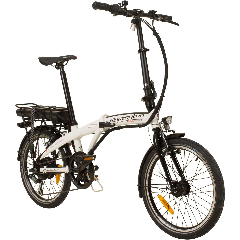 remington urban folder 20 zoll faltrad e bike klapprad pedelec stvzo elektrofaltrad fahrrad e bike. Black Bedroom Furniture Sets. Home Design Ideas