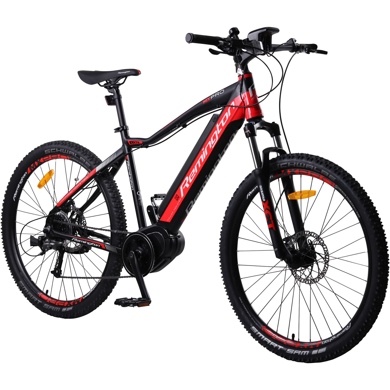 remington mx pro 650b 27 5 zoll mtb e bike mountainbike. Black Bedroom Furniture Sets. Home Design Ideas