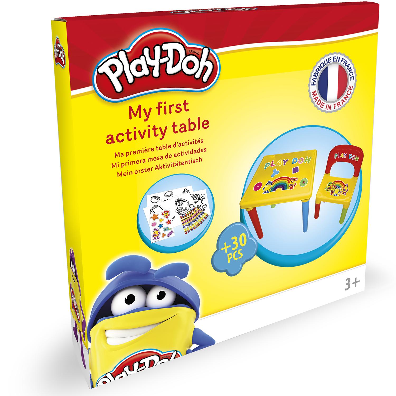 play doh my first desk kinder spieltisch spielzeug ab 2. Black Bedroom Furniture Sets. Home Design Ideas