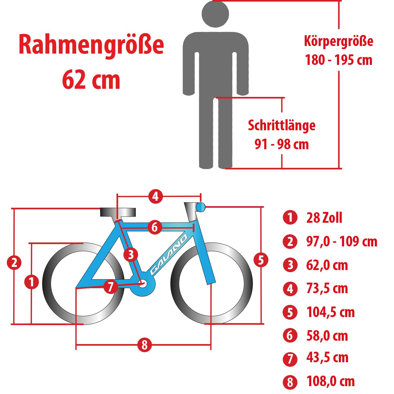 fahrrad rahmenhöhe körpergröße