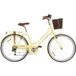 Galano Belgravia 26 Zoll Cityrad 6 Gang Damenfahrrad Mädchenrad Citybike mit Korb Bild 8