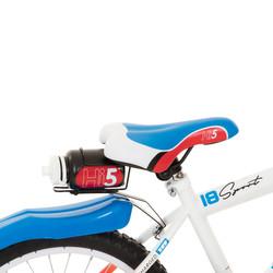 Hi5 Racer 18 Zoll Kinderfahrrad mit Rücktrittbremse rot blau Bild 3