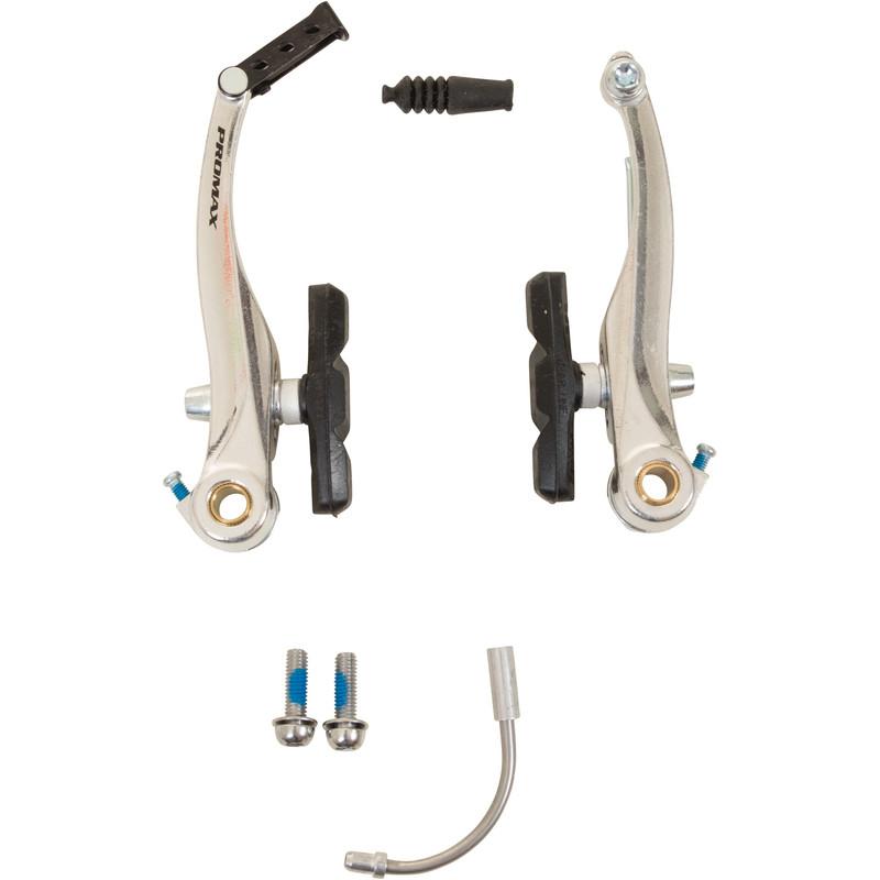 Promax V-Bremse vorne oder hinten Set Aluminiumkörper inkl. Zubehör Fahrradbremse