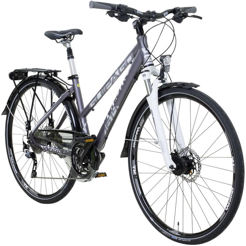 Whistle MIT Segment Trekking Guipago 28 Zoll Trekkingrad Crossrad Damenrad 30 Gang 44 cm